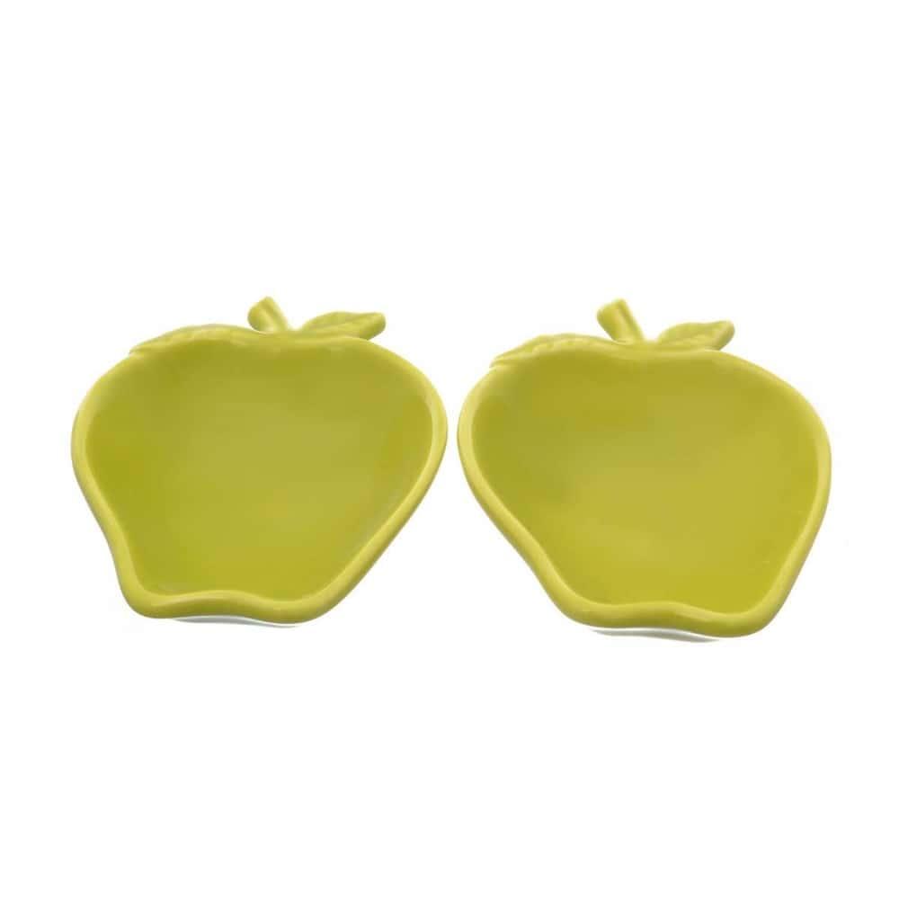 Набор салатников NUOVA CER 14см 2 предмета зеленые