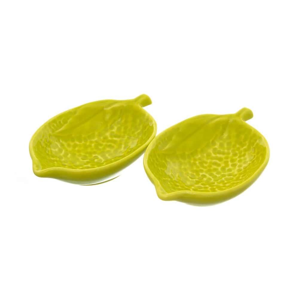 Набор салатников NUOVA CER 15,5см 2 предмета зеленые