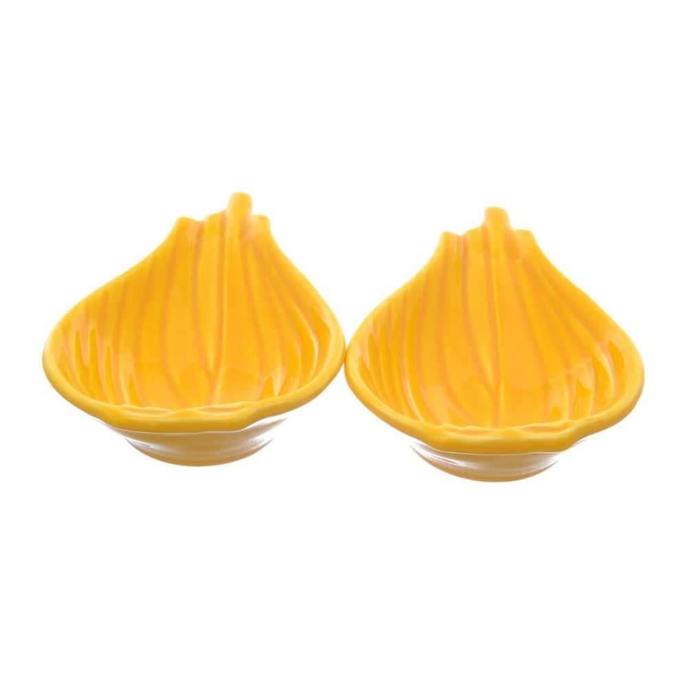 Набор салатников NUOVA CER 14,5см 2 предмета желтые