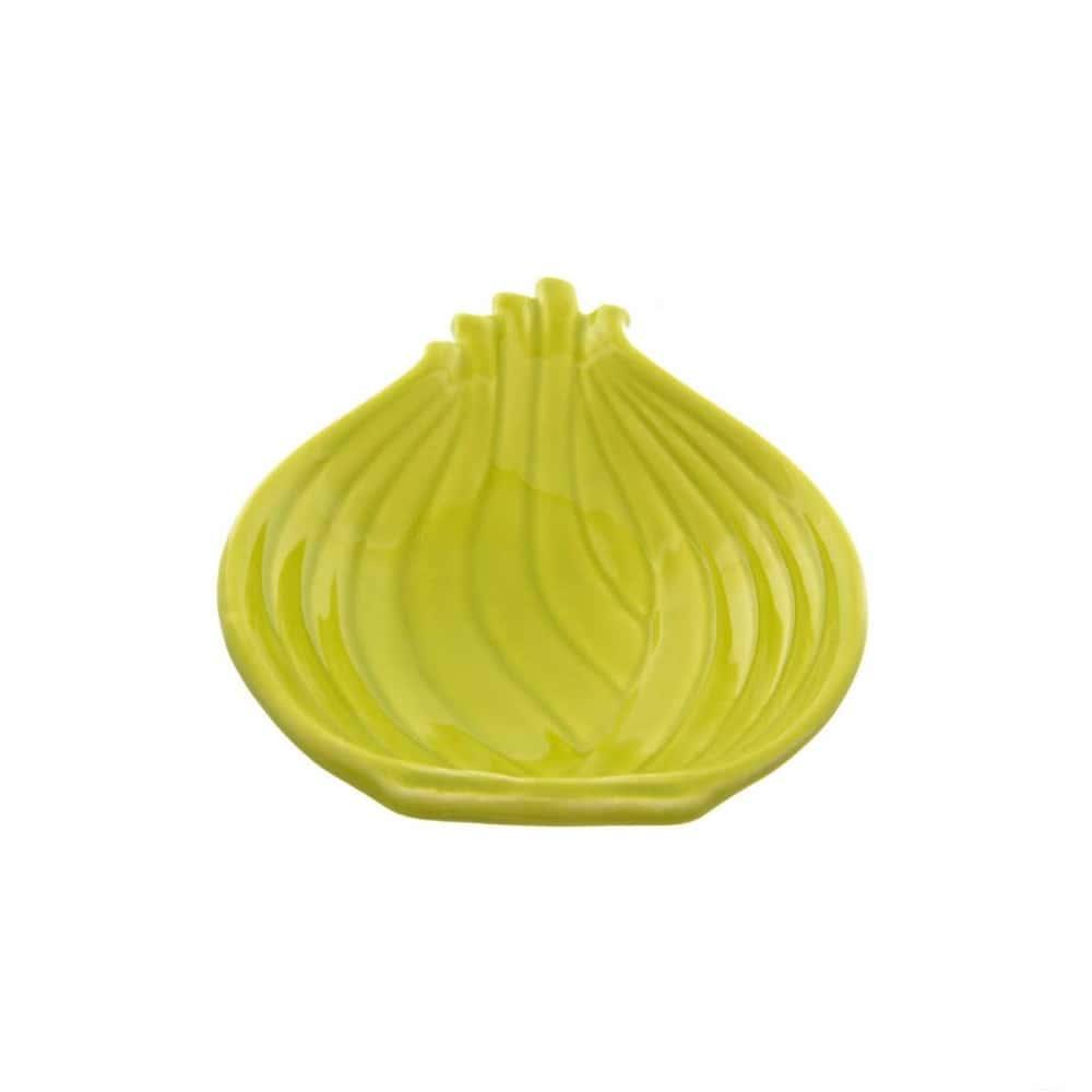 Салатник NUOVA CER 26см зеленый