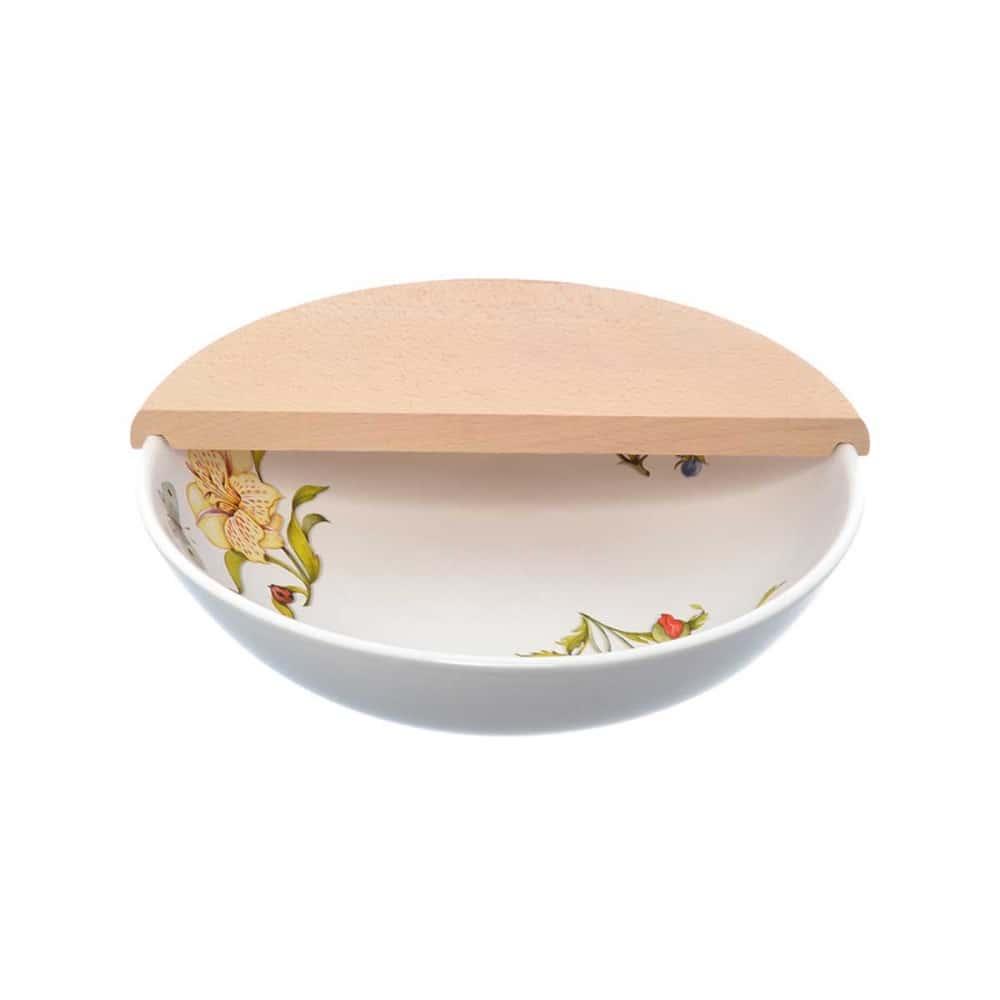 Набор салатник с разделочной доской NUOVA CER 2 предмета