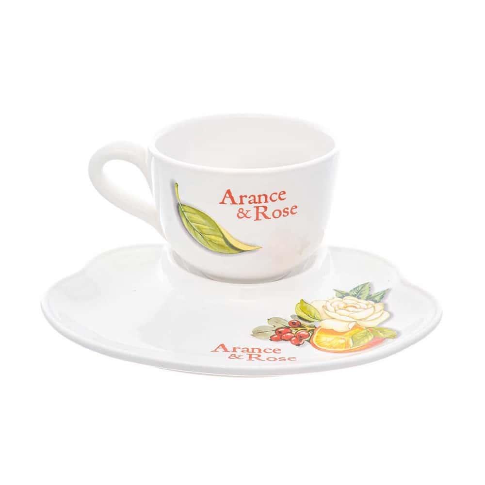 Набор чашка с блюдцем NUOVA CER 2 предмета