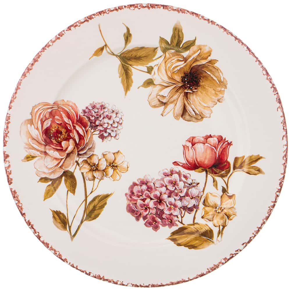 Тарелка обеденная 25 см Сады Венеции LCS без упаковки
