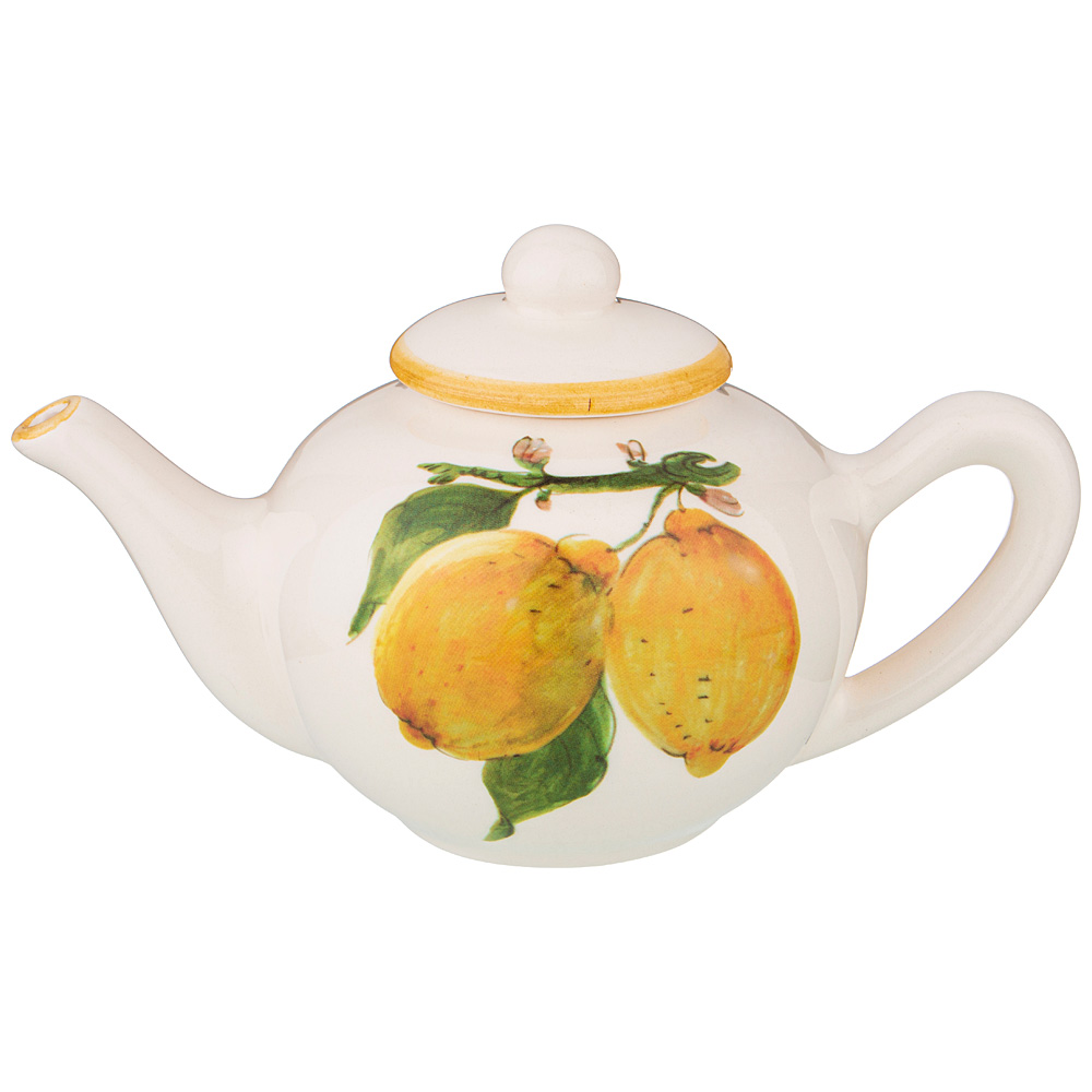 Чайник заварочный Итальянские лимоны LCS 800 мл без упаковки