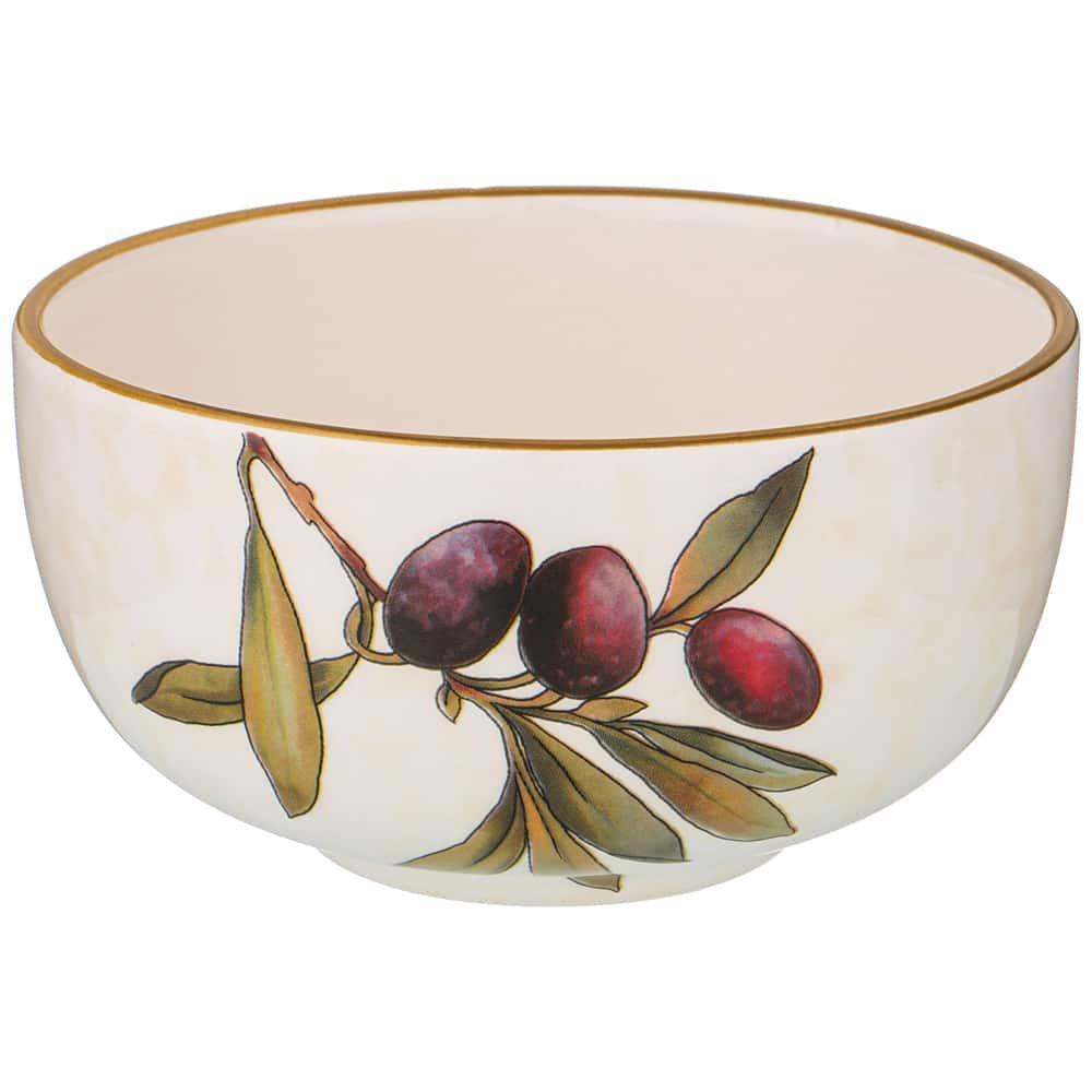 Салатник 14,5 см высота 7,5 см Итальянские оливки LCS без упаковки
