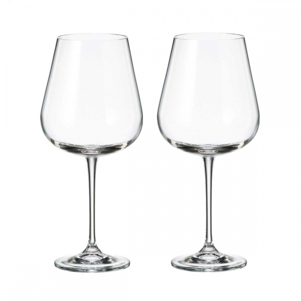 Набор бокалов для вина Crystalite Bohemia Аrdea/Amudsen 670 мл (2 шт)