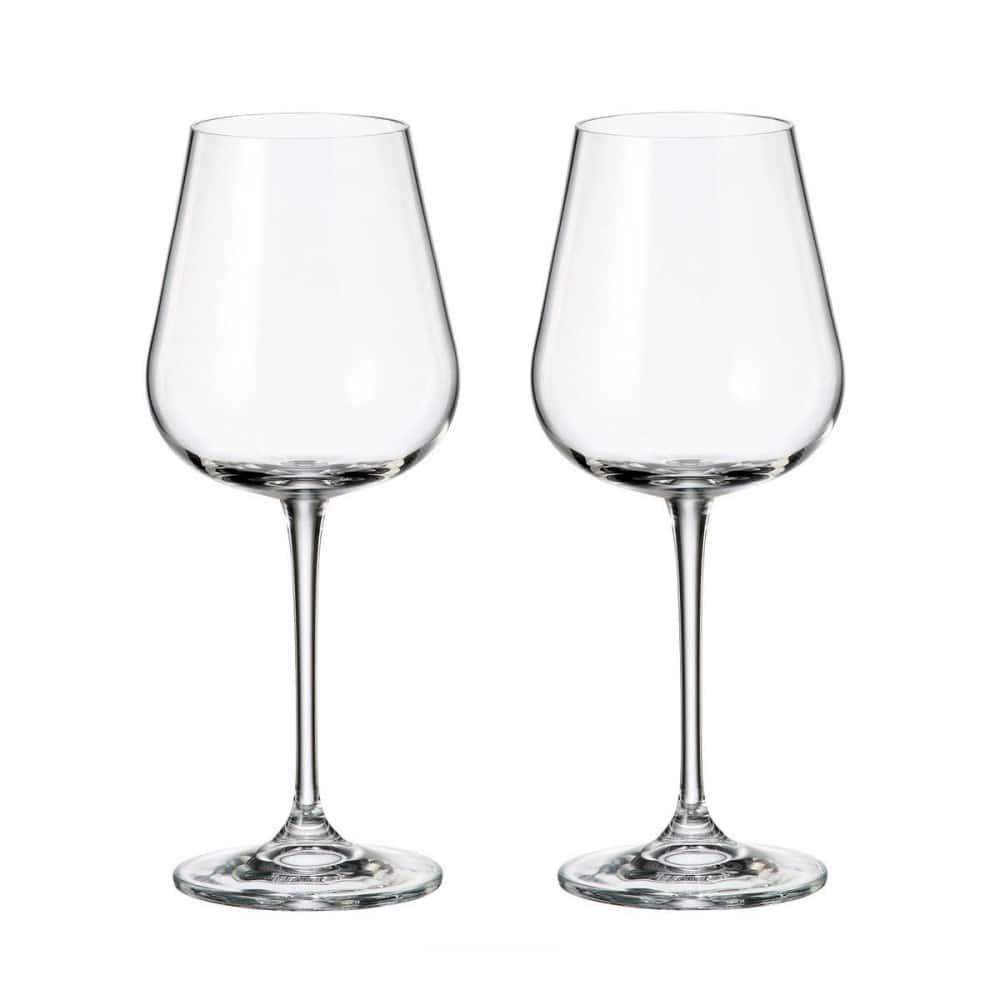 Набор бокалов для вина Crystalite Bohemia Аrdea/Amudsen 450 мл (2 шт)