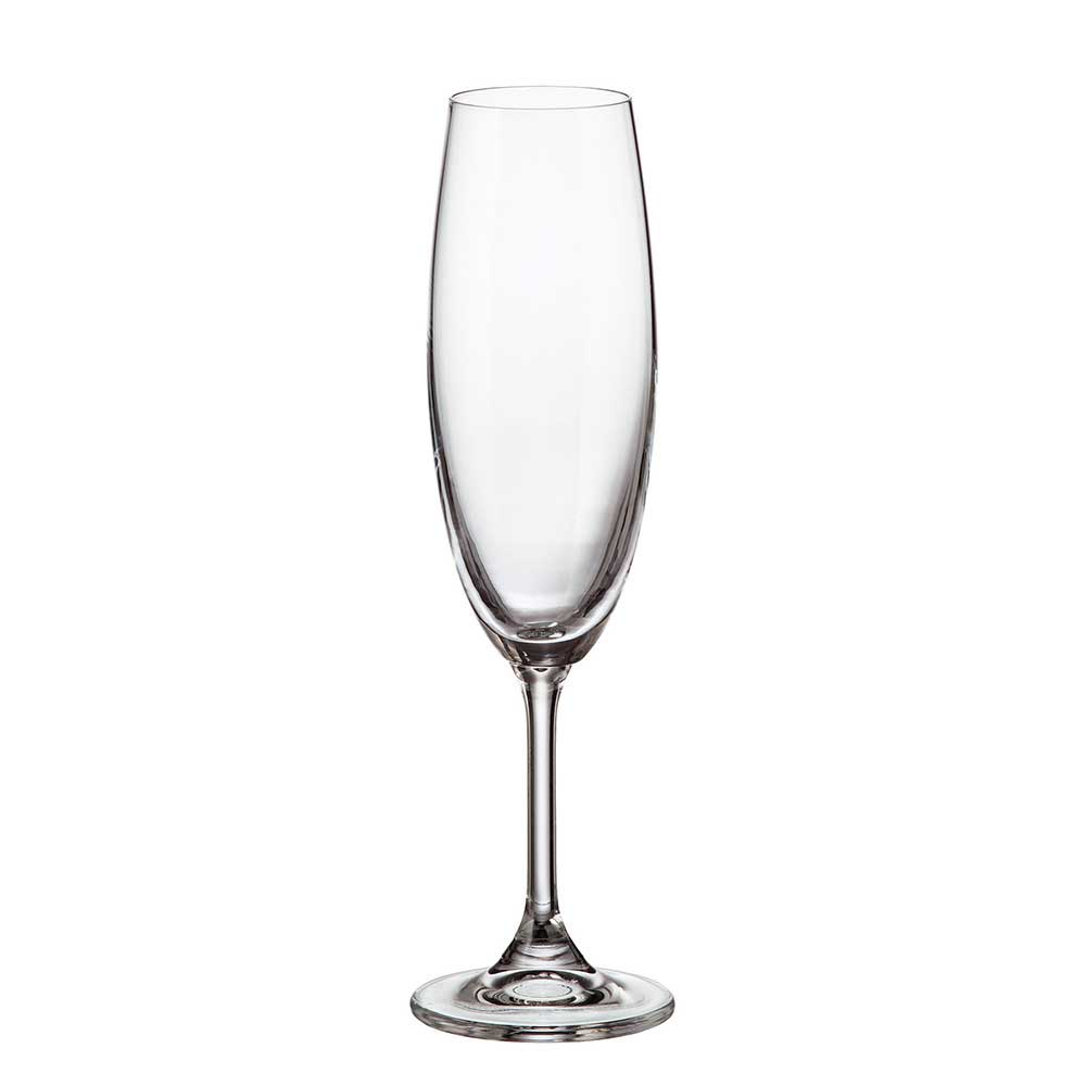 Бокал для шампанского Crystalite Bohemia Sylvia/Klara 220 мл (1 шт)