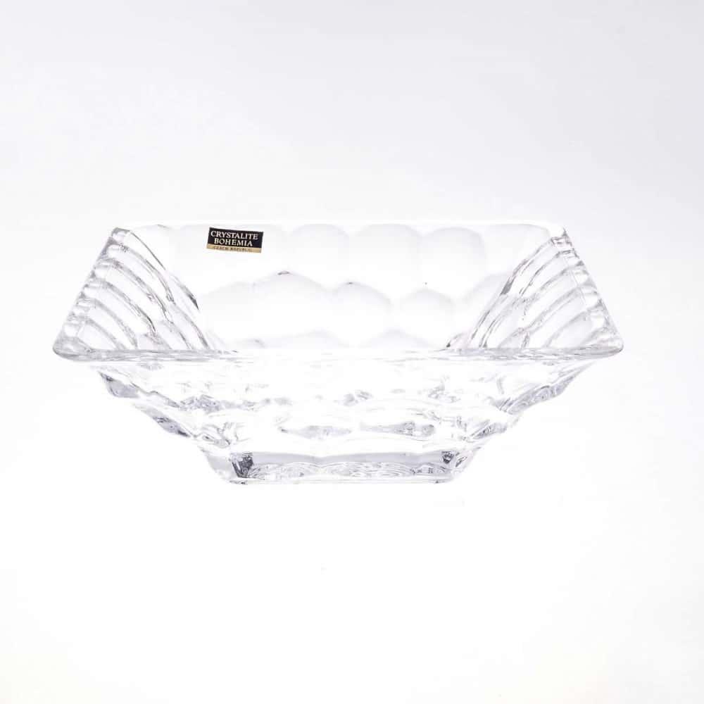 Конфетница Crystalite Bohemia Marble 17.5см