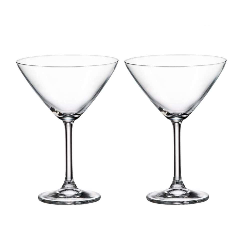 Набор бокалов для мартини Crystalite Bohemia Colibri/Gastro 280 мл (2 шт)