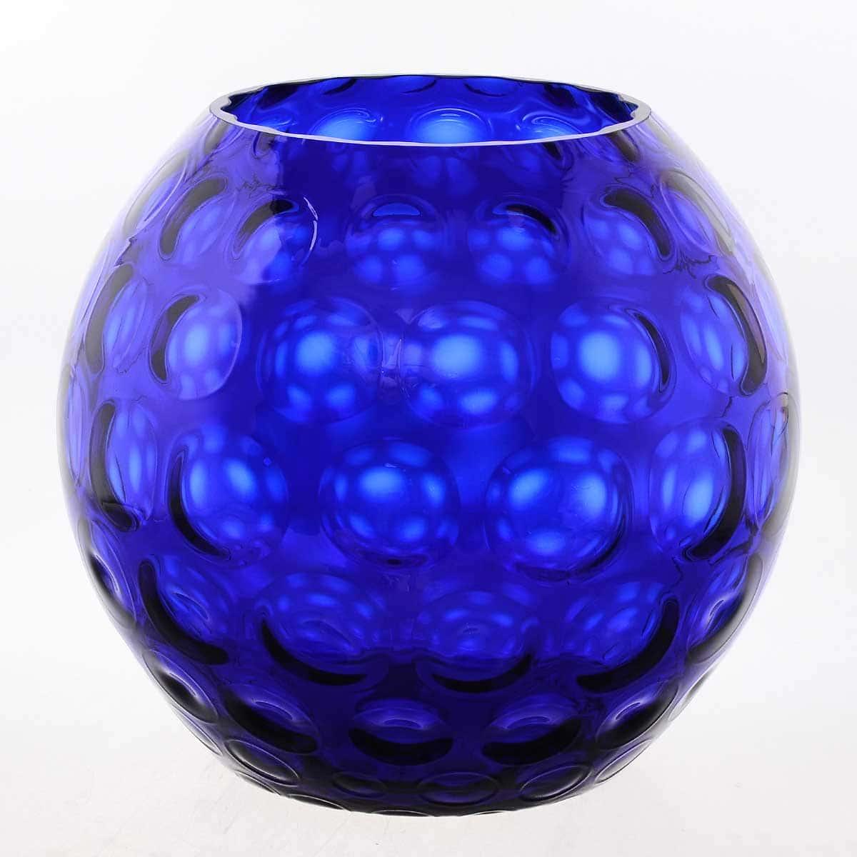 Ваза для цветов 25,5 см Egermann синяя