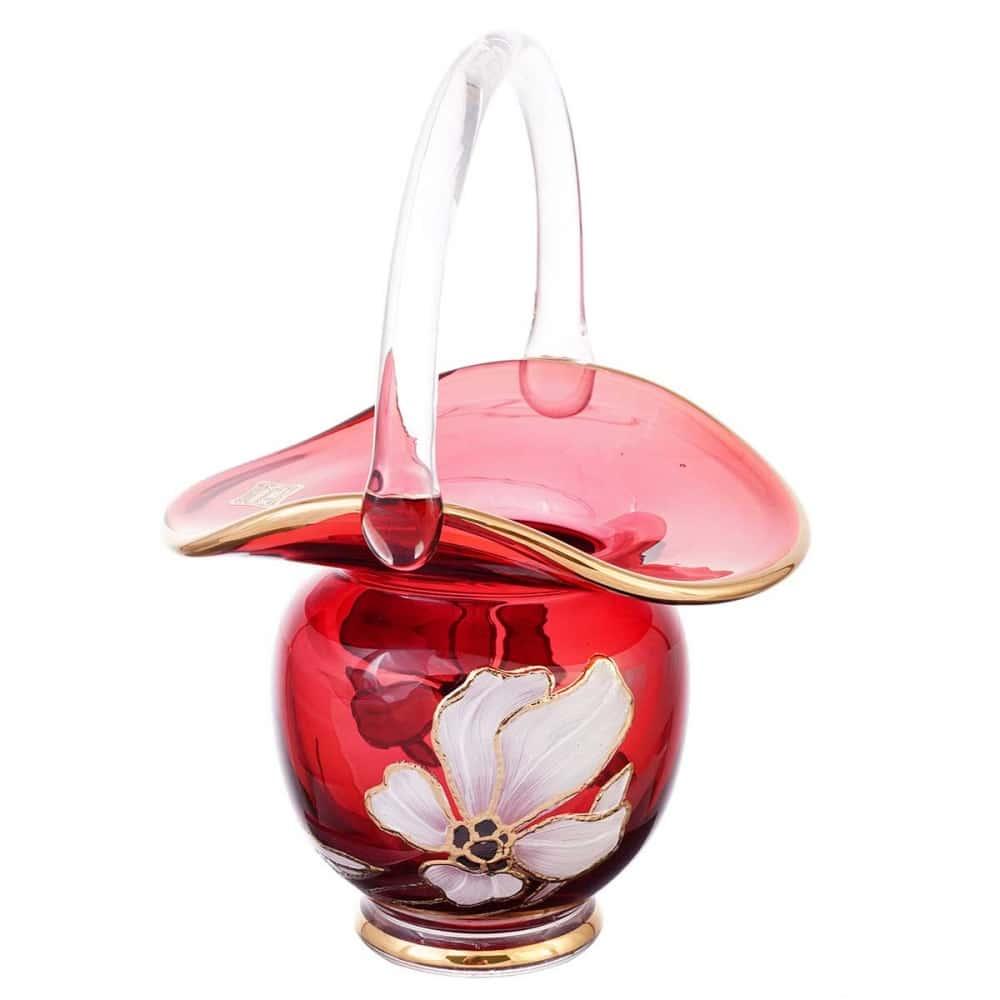 Корзинка egermann 15 см крас.