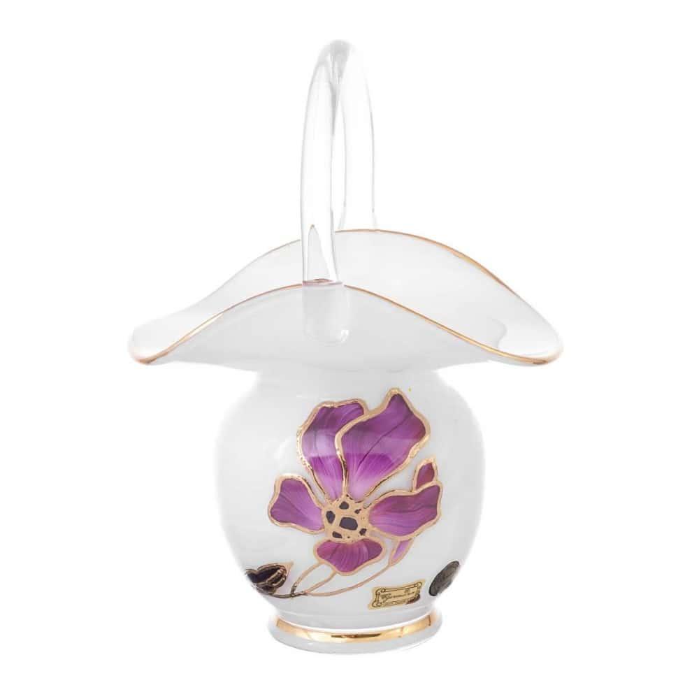 Корзинка egermann 15 см цветок