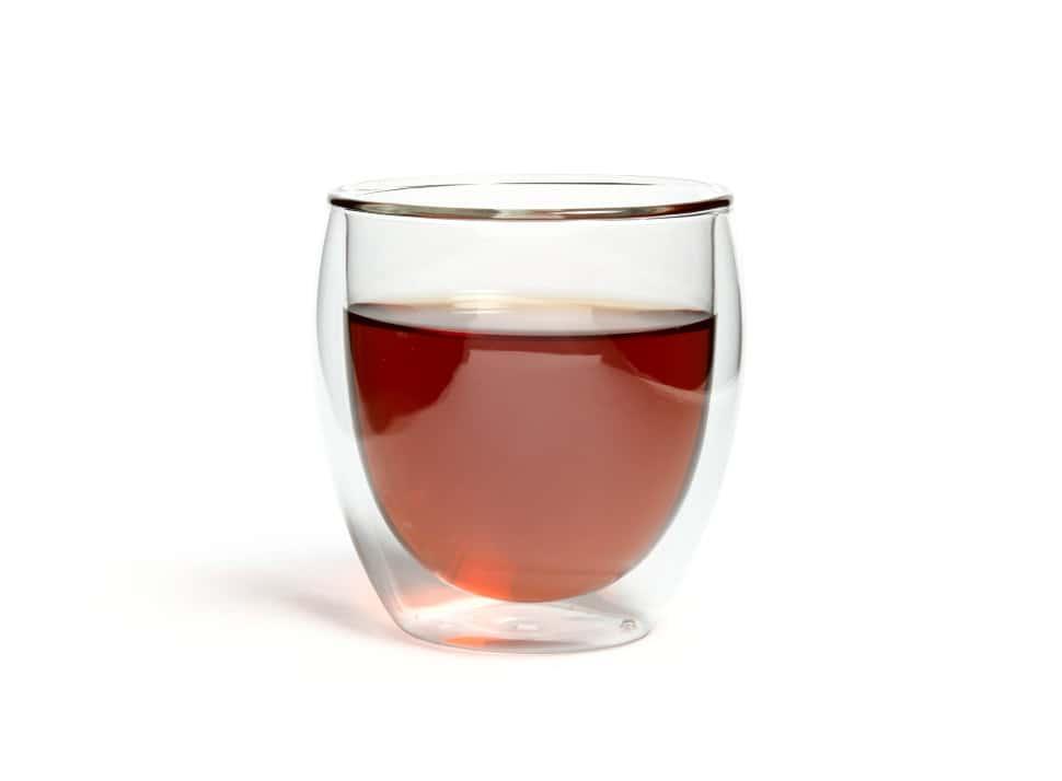 Чашка из жаропрочного стекла Киото Слон 250 мл (упаковка 2 шт)
