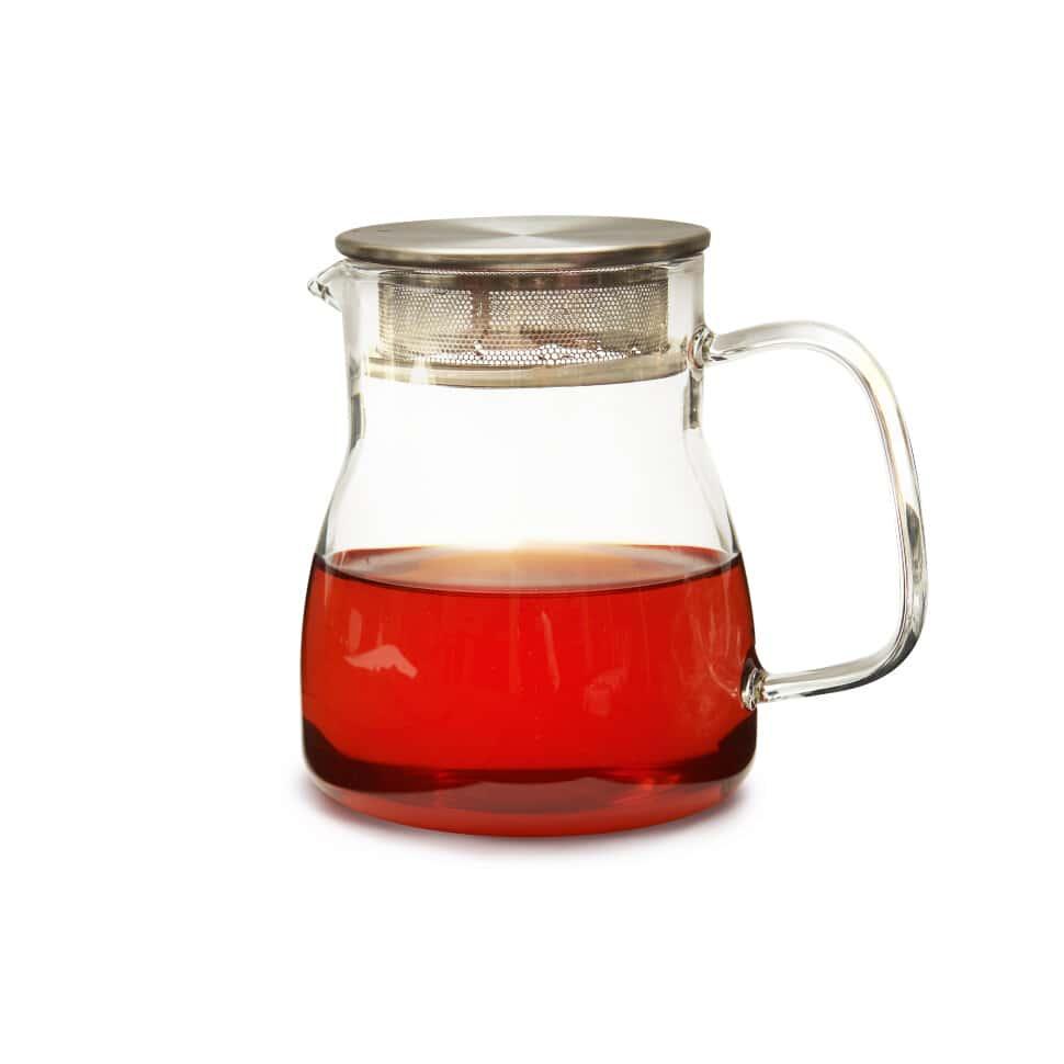 Сервировочный чайник из жаропрочного стекла 500мл Дублин Слон