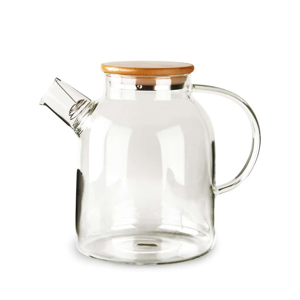 Чайник из жаропрочного стекла 1500 мл Бочонок Слон