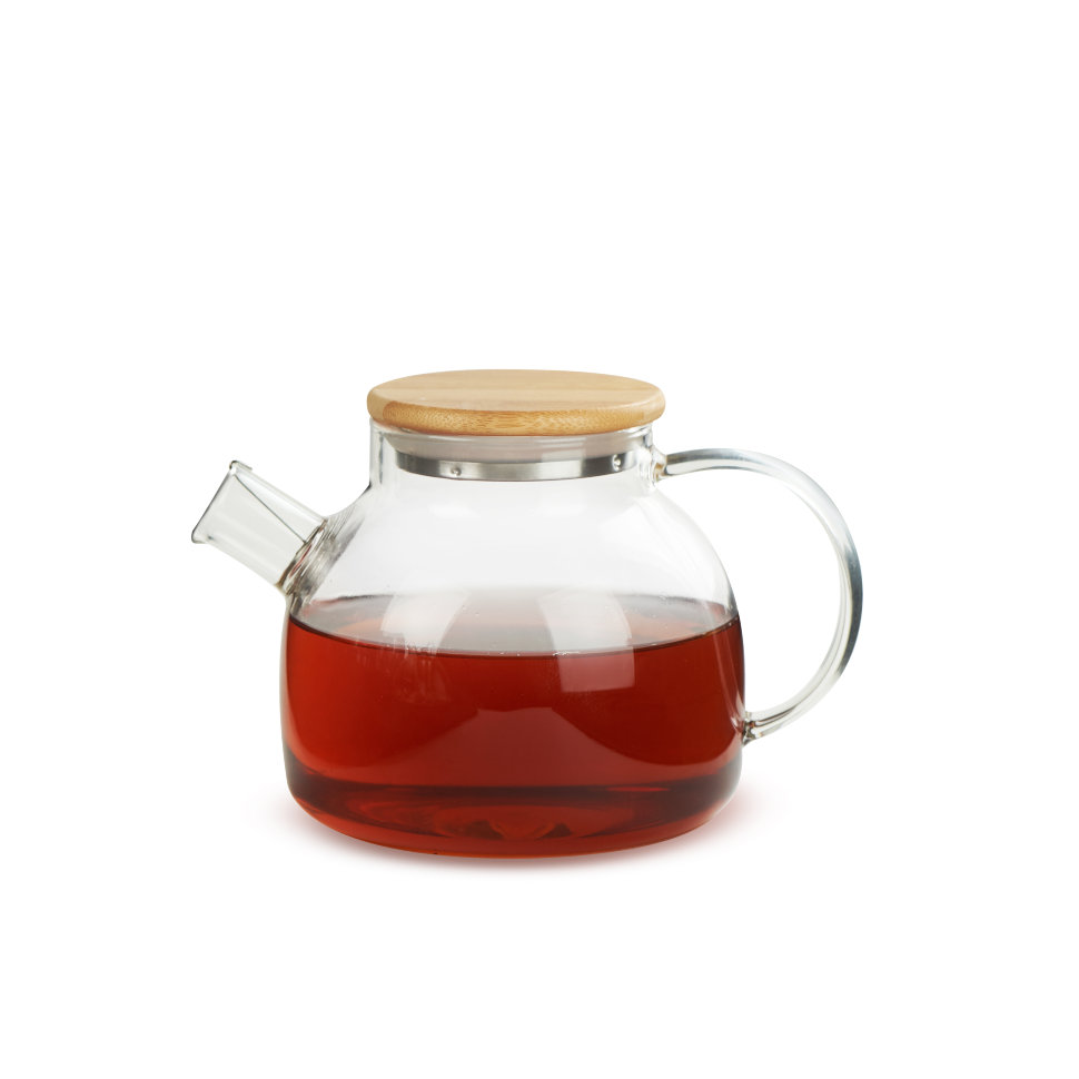 Чайник из жаропрочного стекла 500 мл Бочонок Слон