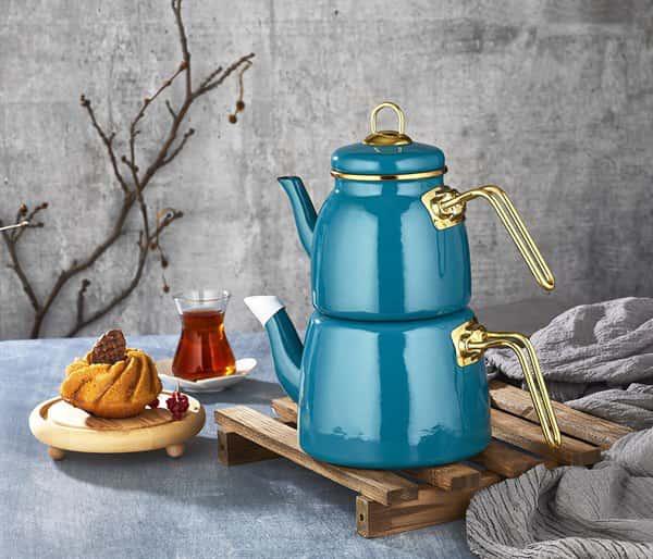 Набор чайников 1/2л Пачи Элит Класс бирюза