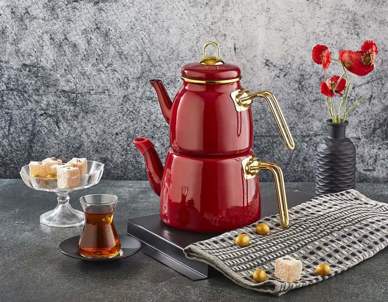 Набор чайников 1/2л Пачи Элит Класс красный