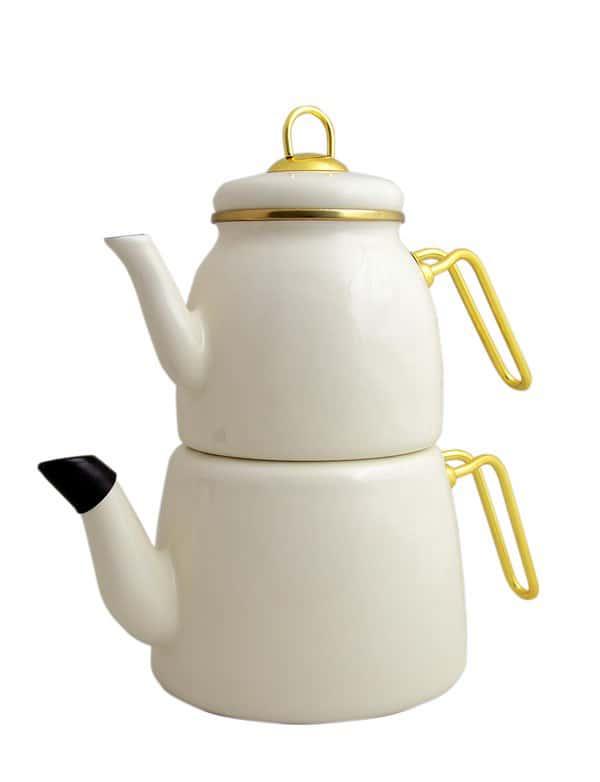 Набор чайников 1/2л Пачи Элит Класс кремовый