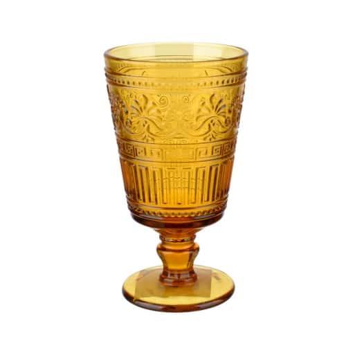 Набор бокалов 380мл.6шт./16,5х8,9см. желт.