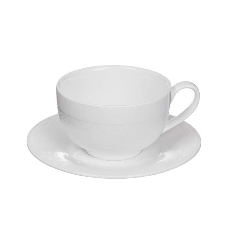 Чайная пара (чашка + блюдце) 230 мл./в коробке
