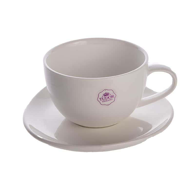 Чайная пара (чашка + блюдце) 240 мл.