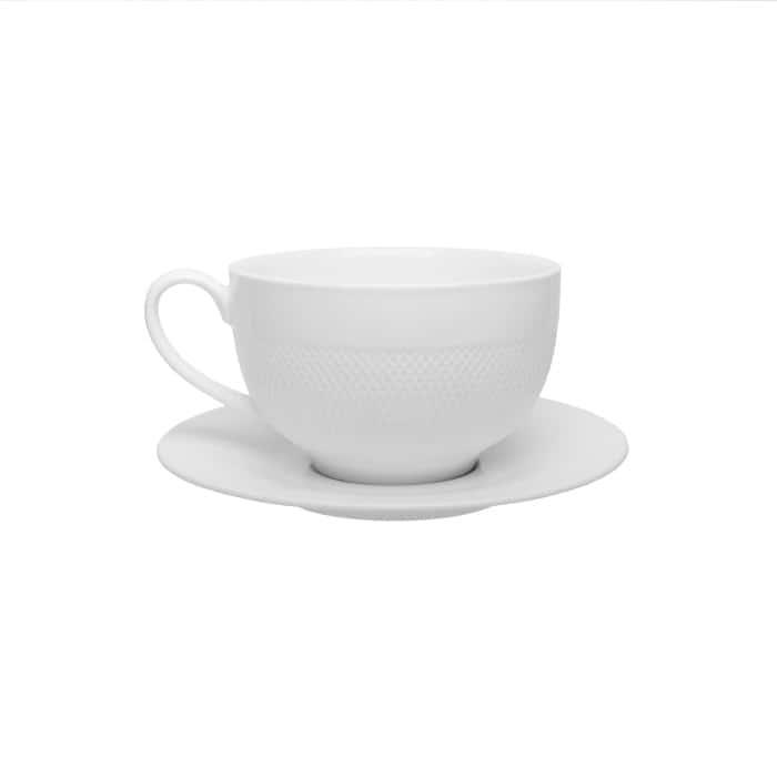 Чайная пара (чашка+блюдце) 350мл.