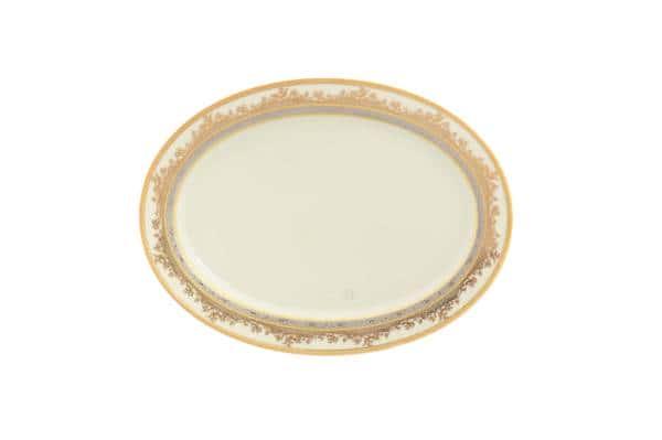 Блюдо овальное Falkenporzellan Cream Gold 24 см 37444