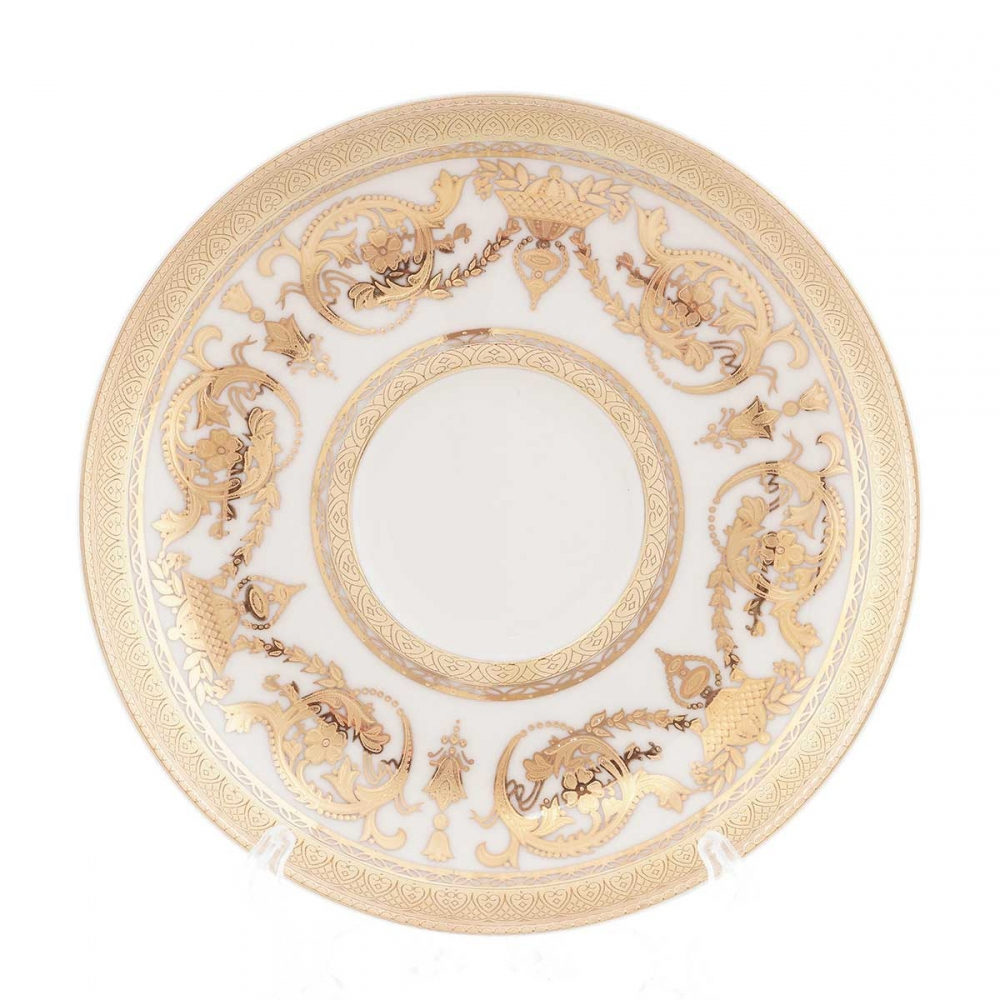 Блюдце Falkenporzellan Cream Gold 220мл(1шт)