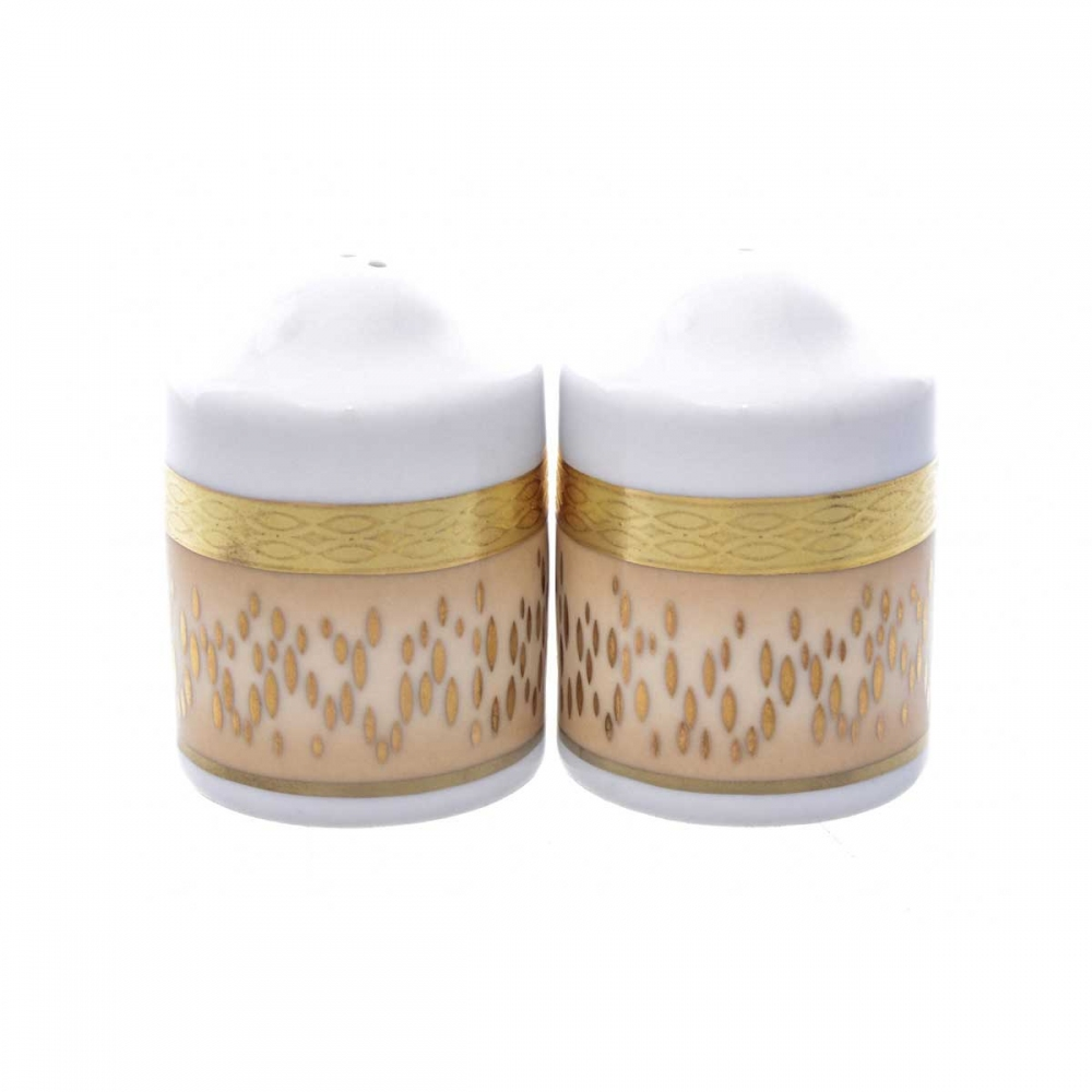 Соль/Перец Falkenporzellan Rialto Creme Gold (2 шт)