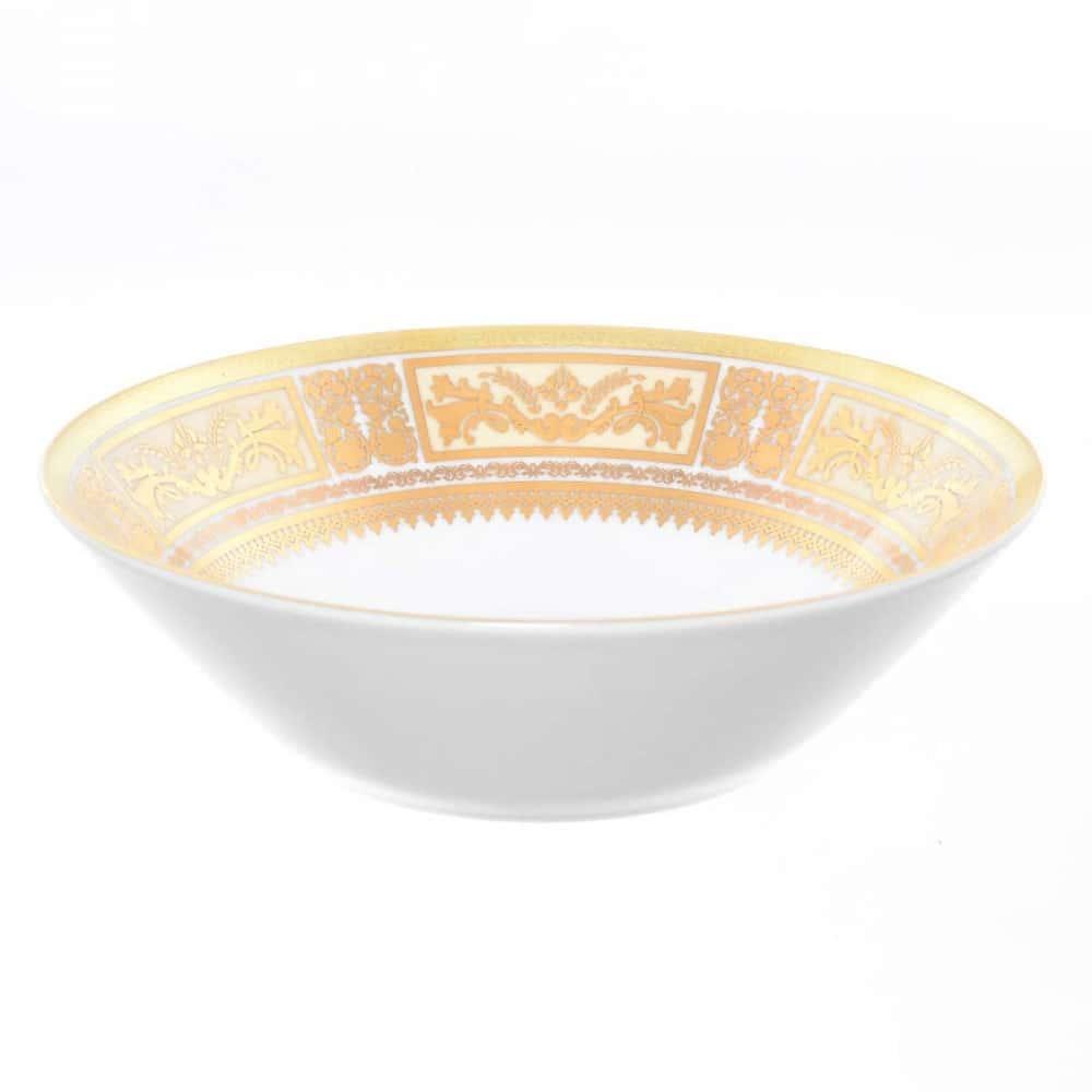 Салатник Falkenporzellan Diadem White Creme Gold 24 см(1 шт)