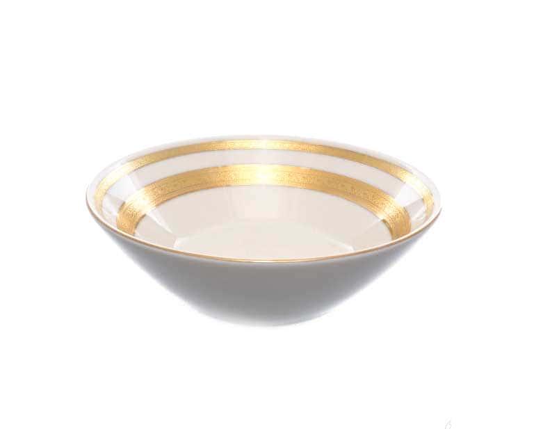 Салатник круглый 18 см (1 шт) Agadir Cream Gold Falkenporzellan