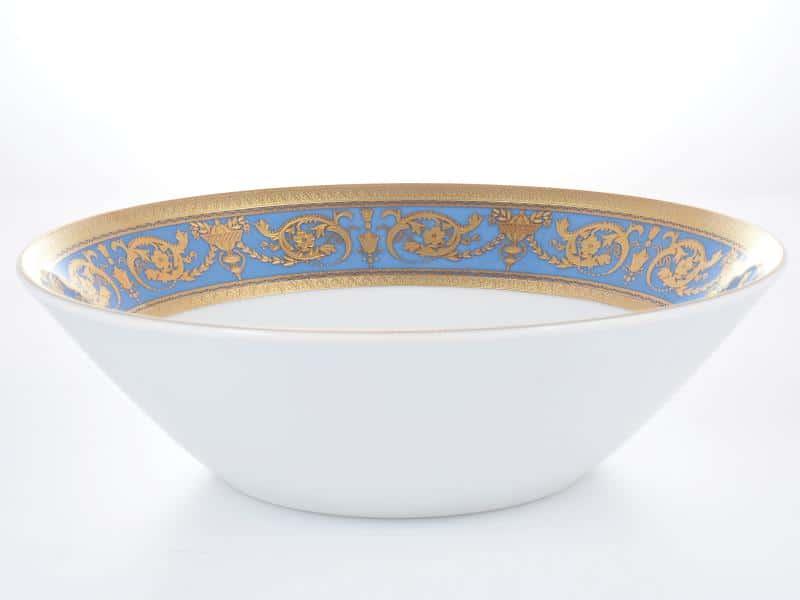 Салатник Falkenporzellan Imperial Blue Gold 24см