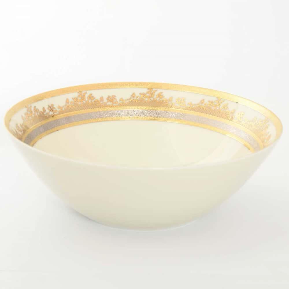 Салатник Falkenporzellan Cream Gold 24см