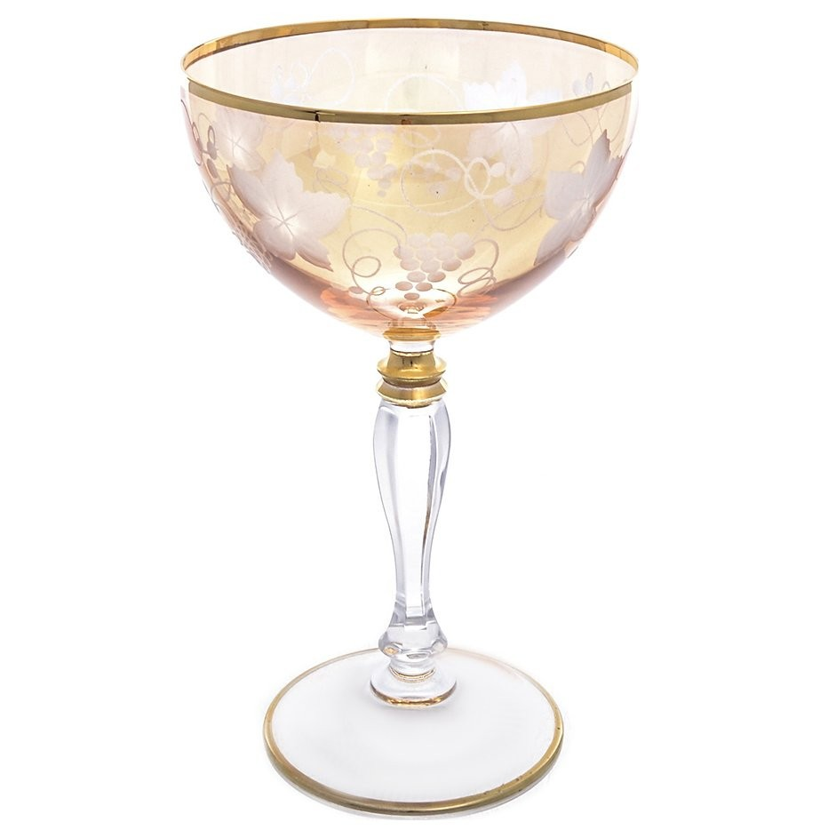 Фужер для вина 1 шт Art Decor широкий