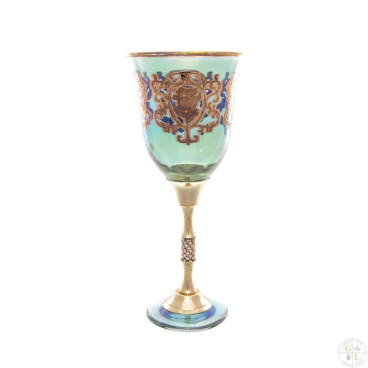 Набор фужеров Art Decor Positano Jewell Color 310мл (6 шт)