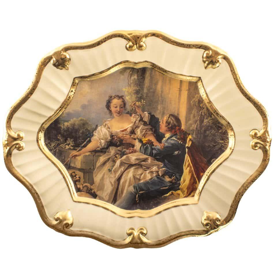 Поднос Bruno Costenaro Boucher Ceramiche