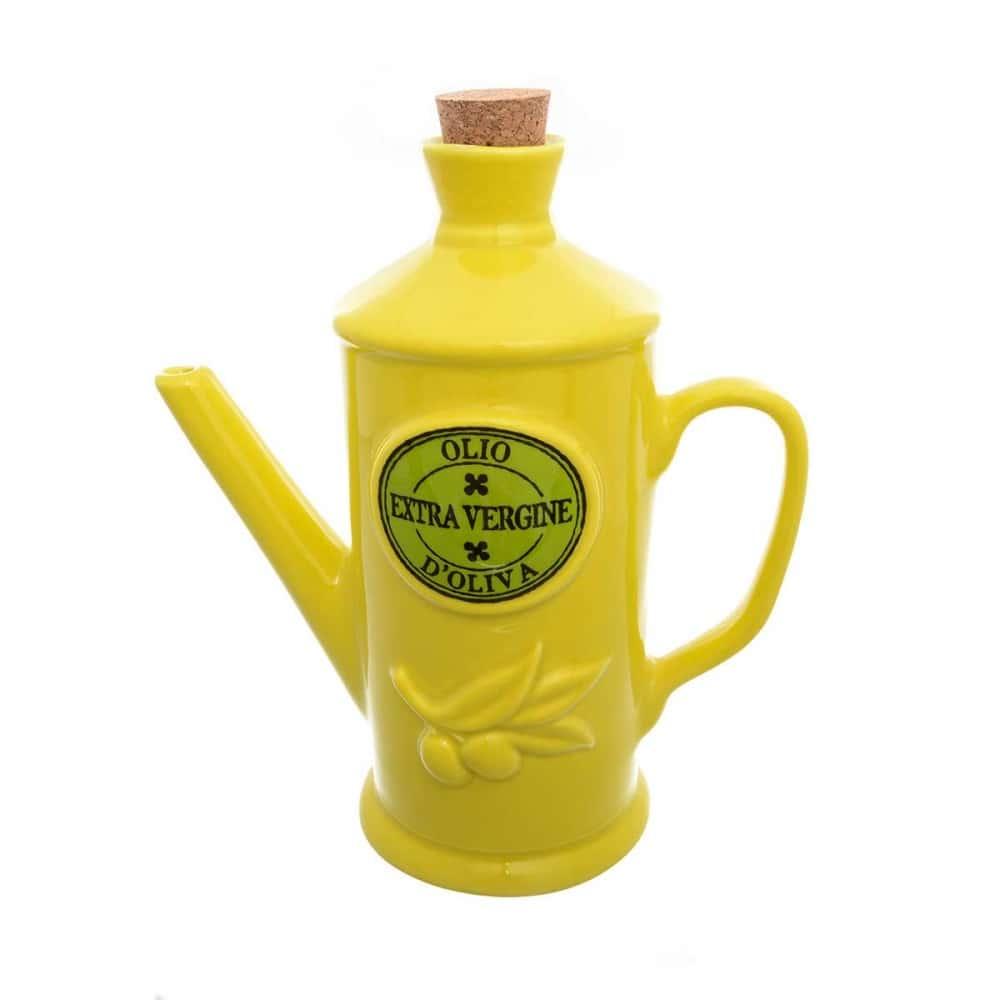 Емкость для масла NUOVA CER 23см желтая