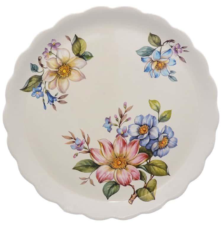 Тарелка NUOVA CER Лепестки Весны 26 см(2 шт)