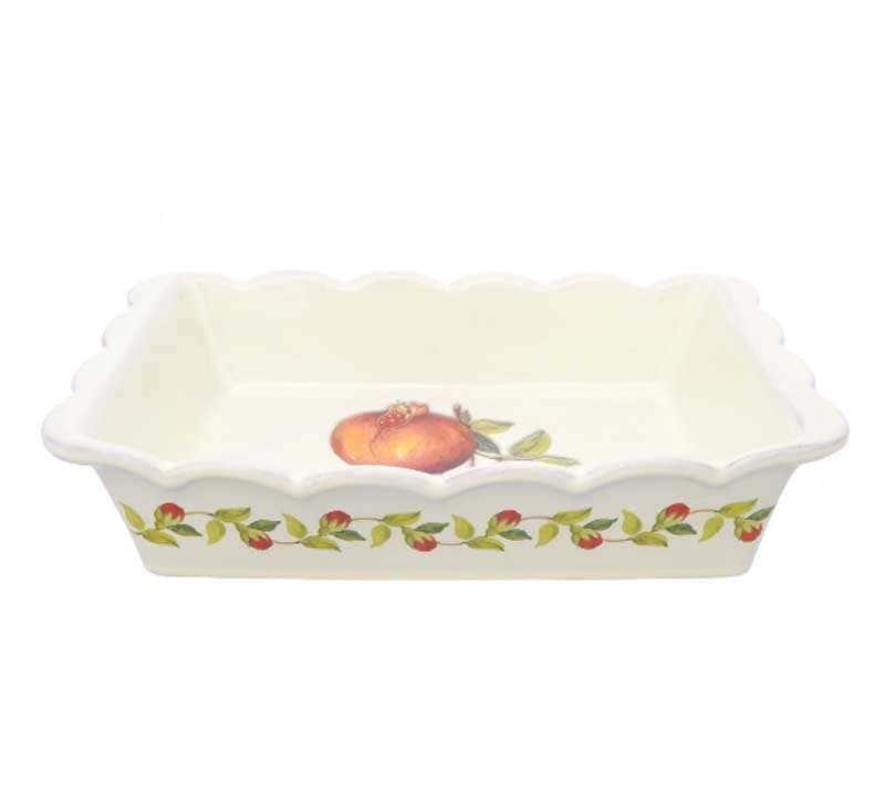 Блюдо для запекания Nuova Cer Гранат 25,5см