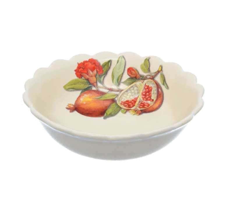 Набор тарелок глубокая Nuova Cer Гранат 20,5см