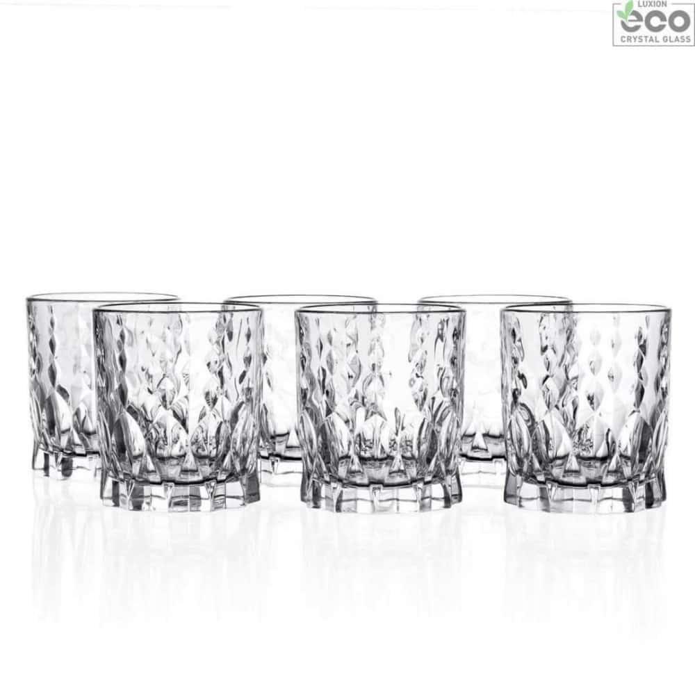 Набор стаканов для виски Marilyn 340 мл RCR Cristalleria Italiana 44214