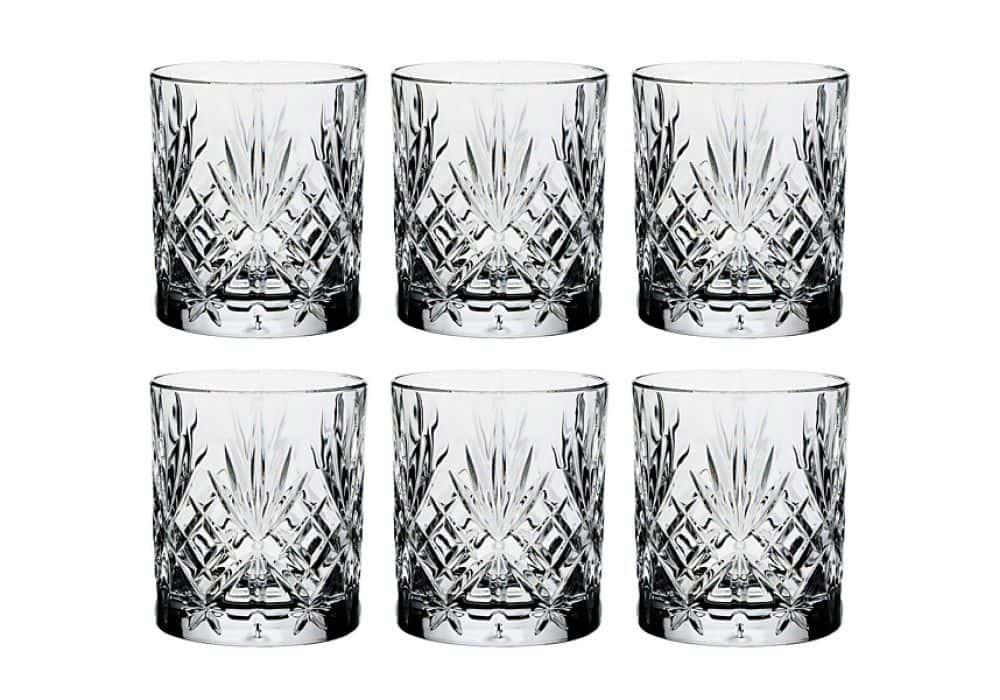 Набор стаканов для виски 230 мл Melodia RCR