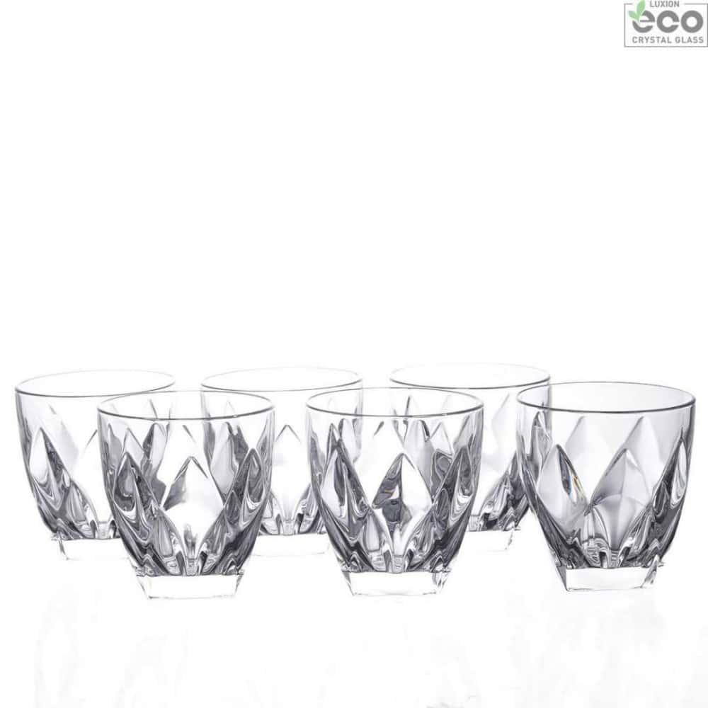 Набор стаканов для виски Ninphea 250мл RCR Cristalleria Italiana 28361