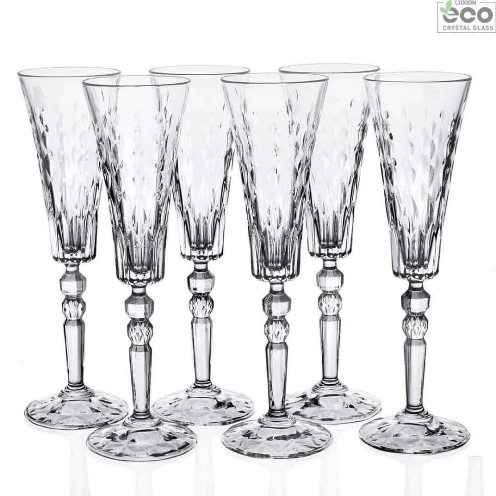 Набор фужеров для шампанского Marilyn170 мл RCR Cristalleria Italiana 44216