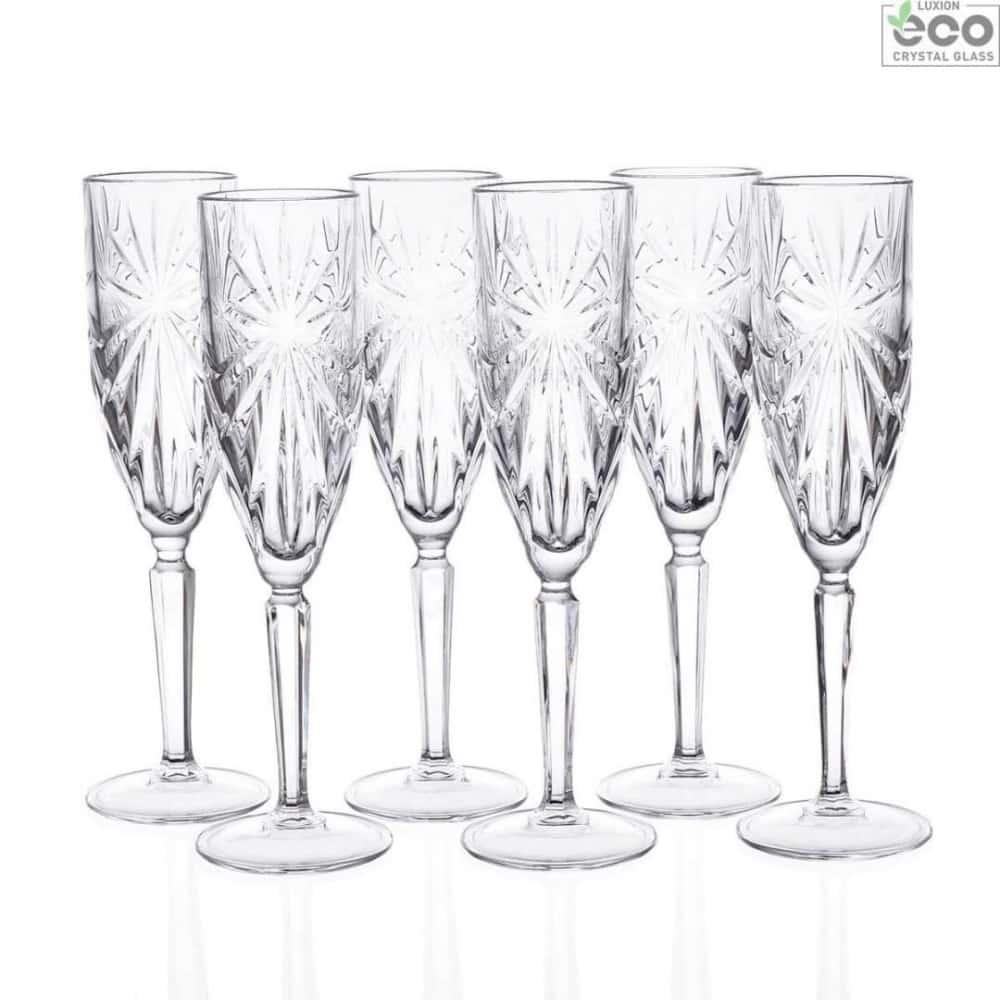 Набор фужеров для шампанского Oasis 160мл RCR Cristalleria Italiana 41371