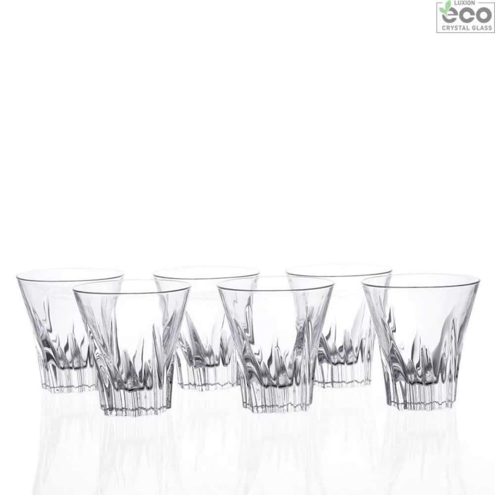 Набор стаканов для воды Fluente 310мл RCR Cristalleria Italiana 28341