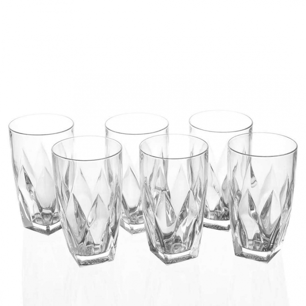 Набор стаканов для воды Ninphea 330 мл RCR Cristalleria Italiana 42730