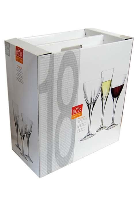 Набор фужеров для вина Fusion RCR Cristalleria Italiana 44222